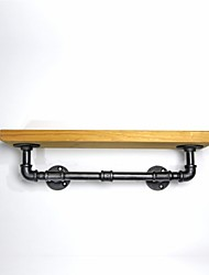 40*15cm LOFT STYLE WROUGHT IRON WALL SHELF BOOKCASE SHELF EXHIBITION SHELF BATHROOM TOWEL RACK-FJ-ZN1Y-011A0