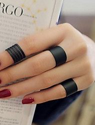 Ring,Midi Rings / Band Rings,Jewelry Fashionable / Adjustable Daily / Casual Silver 3pcs,One Size Women / Men / Unsex