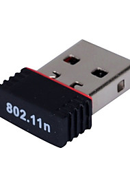 мини USB WiFi адаптер беспроводной приемник RT5370 150Mbps