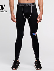 Men's Running Pants/Trousers/Overtrousers Leggings Bottoms Quick Dry Compression Lightweight Materials Spring Summer Running