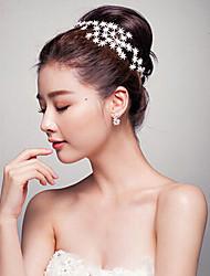 Women's Rhinestone Headpiece-Wedding / Special Occasion Headbands 1 Piece