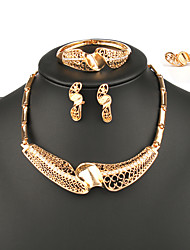 Fashion Women India Style Jewelry Set Four-Piece Suit Ladies Jewelry