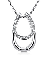 Daniel Wellington 925 sterling silver Simple Geometry medal pendant cremation jewelry
