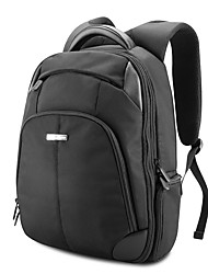 POFOKO® 14 Inch Casual Style Laptop Backpack Notebook Bag Black