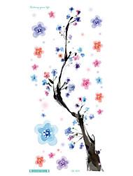20x10cm longo coloridas high solução sexuais produtos da flor de ameixa círculo designer Flash temporária taty tatoo etiqueta