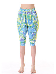 Yokaland Loose Fit Yoga Capri with Print