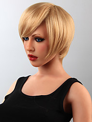Fashion Human Hair Wig Hair Short Wig 15 Colors to Choose