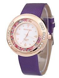 женская мода пояса горный хрусталь песок буром часы кварцевые часы