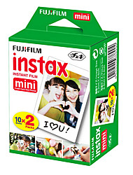 Fujifilm Instax color film white Twin Pack