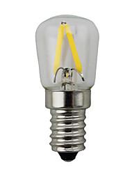 2w e14 led globo bombillas s14 2 cob 150-200 lm cálido blanco dimmable ac 220-240 v 1 piezas