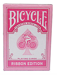 Pink Ribbon Bicycle Bicycle Poker Card Magic Poker Board Game Cards Pink Generation 2 (A)