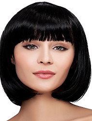 Popular BOBO Wigs Black Color Top Quality Synthetic Wigs