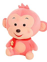 Fubao Monkey Monkey Mascot Zodiac Monkey Puppet Doll Baby Safe Pink Plush Toy 60Cm