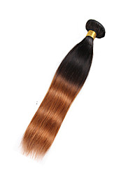 1 Piece Straight Human Hair Weaves Brazilian Texture Human Hair Weaves Straight