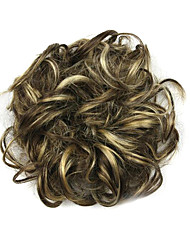 cyan étouffant perruque 6 cm à haute température de couleur de fil cheveux cercle 6026p
