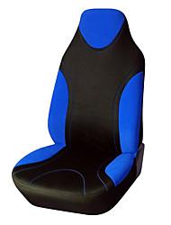 ajuste universal para o carro, caminhão, suv, ou van de poliéster carro tampa do assento 1 pedaços azul