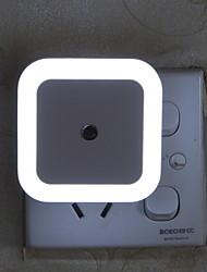 forma quadrada criativo sensor de luz luz da noite