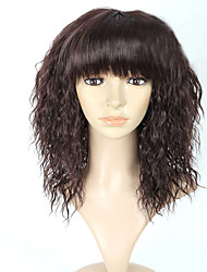 venta caliente en euros sexuales negro pelucas sintéticas rectas