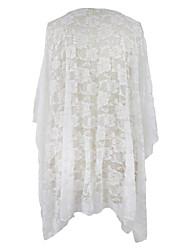 Women's  White Lace Kimono