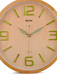 12 Inch Wood Mute luminous Clock