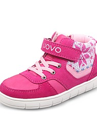 UOVO Baby Shoes Casual PU / Synthetic / Suede Fashion Sneakers Pink