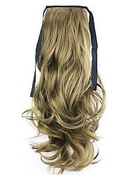черный длина 50см завод прямые продажи связать тип локон хвощ волос хвостик (цвет 68)