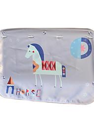 70 * 50 Textilauto Vorhänge Sonnenschutz Pferd