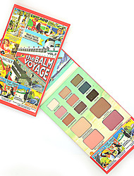 13 Eyeshadow Palette Dry Eyeshadow palette Powder Normal Daily Makeup