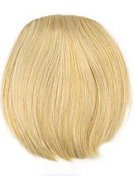 cabelo humano em linha reta Kinky ouro encaracolado tece chignons 1003