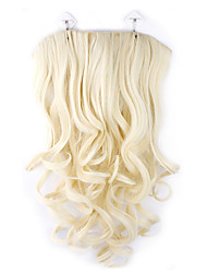 Ms. long curly hair wig hair extension piece issuance of a replacement sheet