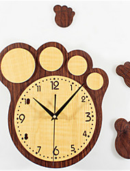 Moderne/Contemporain Autres Horloge murale,Autres Acrylique 35*35*5 Horloge