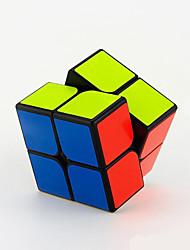 Yongjun® Cube velocidade lisa 2*2*2 Velocidade / profissional Nível Cubos Mágicos Preta / Branco Guanpo Anti-pop ABS