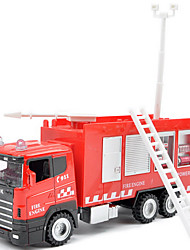 Dibang - 1:43 Free shipping children's toy fire engine inertia alloy car model toy water gun carriage (3PCS)
