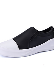 Men's Shoes Athletic Tulle Fashion Sneakers Black / White / Black and White