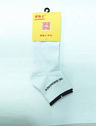 White cotton polyester play sports running socks