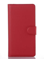 capa protetora em relevo couro pu titular do telefone de couro cartão da carteira para Sony Sony Xperia m5