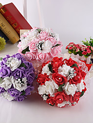 Wedding Flowers Round Roses Bouquets for Lady
