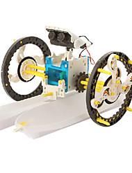 mostrar los juguetes ciencias de la educación 14 en 1 juguetes solares del robot de lujo experimentos científicos