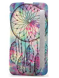 For LG Case with Stand / with Windows / Flip / Pattern Case Full Body Case Dream Catcher Hard PU Leather LG