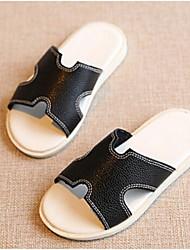 Zapatos de bebé-Sandalias-Casual-PU-Negro / Blanco