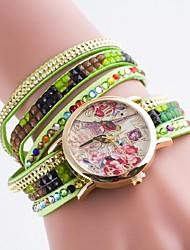 Ladies' Casual Watch Diamond Strap Bracelet Watch Quartz Watch Dial Bronzing Eiffel