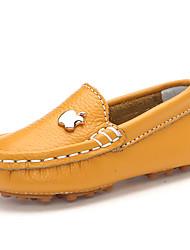 Para Meninos-Sapatos de Barco-ConfortoAzul / Amarelo / Vermelho-Couro-Casual