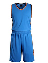 Men's Sleeveless Leisure Sports / Badminton / Basketball / Running Clothing Sets/ Quick Dry /