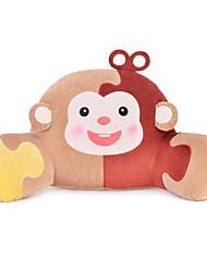 Metoo Microphone Rabbit Spell Color Sunpoo Monkey Waist Pillow Plush Toys  Monkey Mascot Lumbar Pillow