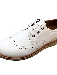 Men's Shoes Casual PU Oxfords White