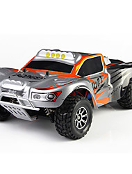Buggy WLToys A969 1:18 Brush Electric RC Car 50KM/H 2.4G Orange / Green Ready-To-GoRemote Control Car / Remote Controller/Transmitter /