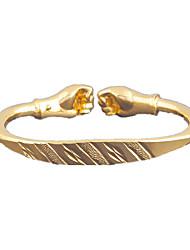 PulseirasLiga / Cobre / Chapeado Dourado-Bracelete- paraCasamento / Pesta / Diário / Casual- com1pç