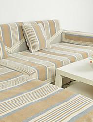 rayure housse de canapé de haute qualité canapé en tissu chenille serviette