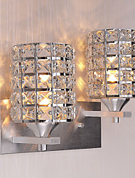 hot Modern Simplicity Crystal Wall Lights Living Room / Bedroom / Hallway light Fixture 2-lights