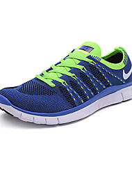 Nike Free 5.0 Flyknit Men's Running Shoe Sneakers Athletic Shoes Blue Grey Purple Brown